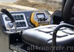 Панель управления лазерного бетоноукладчика LS-840B